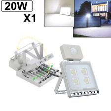 20W LED Flood Light PIR Motion Sensor Spot Cool White Outdoor Security Lighting