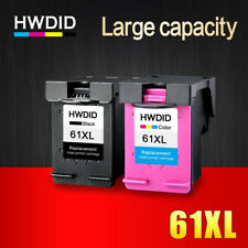 2 Ink Cartridge Printer HP 61 XL Black Tri Color HP Deskjet 1000 1050 1055 2000