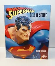 DC Direct Superman Deluxe Statue w/ Motarized Rotating Daily Planet Base NIB MIB
