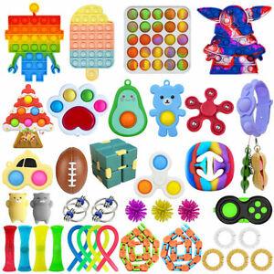 40Pack Fidget Toys Set Sensory Tools Bundle Stress Relief Hand Kids Adults Toy