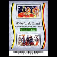 Brazilian Belgium Relations 2011 Michel BR BL157 RHM BR B-167 Carnival  Iansan