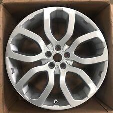 "Genuine Range Rover Evoque 20"" Silver Alloy Wheel"