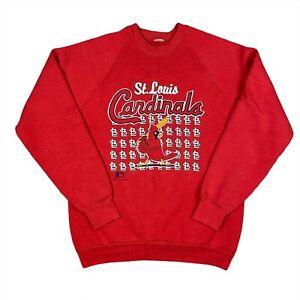 Vintage 1989 St. Louis Cardinals Crewneck Sweatshirt Men's Size M/L Made in USA