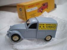 Dinky Toys Atlas Citroen 2cv Fourgonnette Bébé Lorrain hors série Noel 1/43 25D
