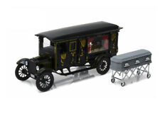 Ford Model T Ornate Hearse (1921) Diecast Model Car PC18013