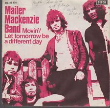 """7"""" Mailer Mackenzie BandMovin`/ Let Tomorrow Be A Different Day 60`s DECCA"""