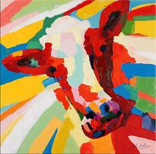 Modern Art Leinwand Gemälde Acrylbild Malerei Bild - Blinde Kuh - Martin Klein