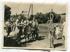 Foto, Heimatfest im Juli 1939 in Blumenau (Olbernhau), Erzgebirge, g (W)1406