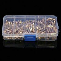 300 Stk/ Kit M3 Schraubmutter 4-12Mm Spalte Threaded Standoffs V7J5