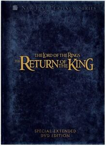 NEW DVD The Lord of the Rings The Return of the King 4 Disc Special Extend 2004