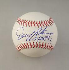 Dennis Martinez Autographed Signed Baseball Montreal Expos JSA