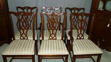 Antique Set of 6 Stanley Furniture Dining Chairs, Table included for free