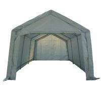 Garage Carport Shelter Car Port Canopy 3m x 6m Galvanised Frame White