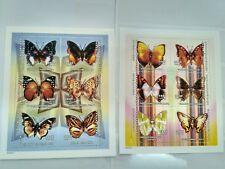 Central Africa  2001 butterflies MI2606-2617