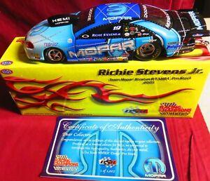 RICHIE STEVENS, 1/24 2005 AUTHENTICS MOPAR PRO STOCK, DSR RACING,  1 OF 1,002