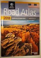 2018 Walmart Road Atlas - Paperback By Rand McNally - GOOD