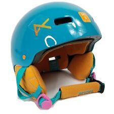Anon Rime Youth Snowboard Ski Helmet Sz S 49-51cm Teal 490g Euc