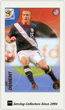 2010 Panini World Cup Soccer Trading Card Common No182 Jay Demerit (USA)