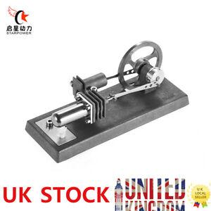 Mini Hot Air Stirling Engine Model Motor Experiment Physics Educational DIY Kit
