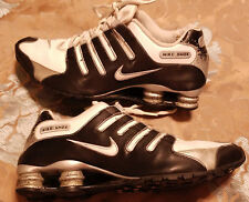 Nike Shox NZ SL Men's Shoes Size 10.5 White Black Gray