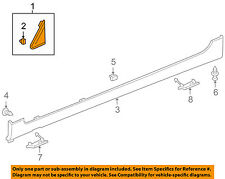 Chevrolet GM OEM 11-15 Cruze Exterior-Upper Molding Trim Left 95486483