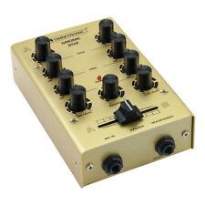 Omnitronic Gnome Mini Mixer Gold DJ Disco Mixing Desk