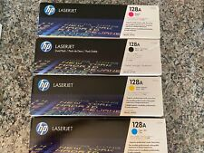 SET 4 NEW HP Laser Toner For Color HP 128A LaserJet Pro CM1415 CP1525 CE320A