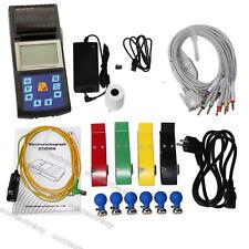 FDA Digital 1 Channel 12 lead ECG/EKG machine Electrocardiograph,Printer paper