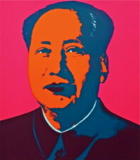 Mao (Hot Pink) Sunday B. Morning, Silkscreen, Andy Warhol - with COA