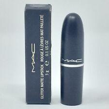 (1) MAC Glitter Matte Lipstick Velvet New