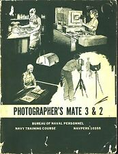 PDF 23 MILITARY PHOTOGRAPHY TRAINING MANUALS 40's WWII SPEED GRAPHIC DVD-ROM