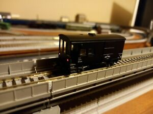Kato Guards Van/ Caboose. With Working Tail Lights