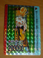 DRAGON BALL Z DBZ AMADA PP SPECIAL CARDDASS CARD PRISM CARTE 624 JAPAN RARE UR