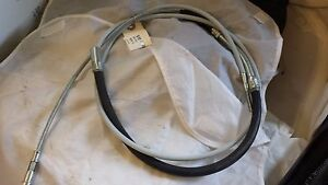 PORSCHE 911 CLUTCH CABLE FOR 915 TRANS HOOKED END GEMO 424427 4614 @1731