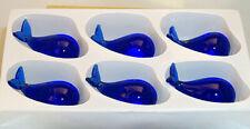 Mini Whale Blue #0205A box of 6 pc. each