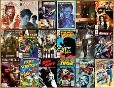 Lot of 18 TV & MOVIE comics High grade NM-  DC, Marvel, Topps THE BOYS & A-TEAM