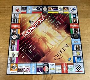 Hasbro Monopoly Queen Edition Board Game Replacement Spare Part - Board