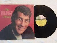 DEAN MARTIN Christmas Album Reprise Warner Bros Records RS 6222 VG+  Vinyl LP