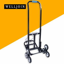 6 Wheel Foldable Stair Climbing Cart Hand Trolley baggage Cart