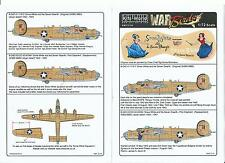 Kits World Snow White and Seven Dwafrs B-24D Liberator Decals 1/72 116 St Do