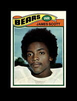 1977 Topps Football #424 James Scott RC (Chicao Bears) NM-MT