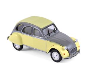 1/43 Norev Citroen 2CV Dolly 1985 Rialto Yellow & Cormoran Grev Neuf Boite