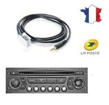 Câble AUX MP3 Auxiliaire Jack 3.5mm Citroën RD4 RT4 DS3 C3 C4 C5 Picasso C6 C8