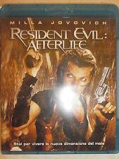 RESIDENT EVIL:AFTERLIFE FILM IN BLU-RAY NUOVO DA NEGOZIO ANCORA INCELLOFANATO !!