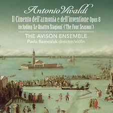 Vivaldi Concerti Opus 8 incl The Four Seasons Avison Ensemble Linn Records 2 CDs