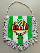 Rapid Wien Austria fanion vintage football banderin pennant wimpel