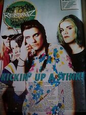 L7 2 x Articles 3 pages & Album Review 1994 from British Kerrang Magazine