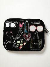"Roxy Laptop Accesories Sleeve 10"" Carry Me Black Multi"