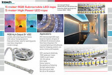 1 x 5m 1200 LED 4000K 3528 TOP LED ROPE COMMERCIAL Grade 24 VDC 19.2 W/M