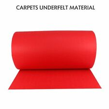 Red Decor Floor Carpet Felt Suit Auto Marine House Exhibition Wedding Party Mat